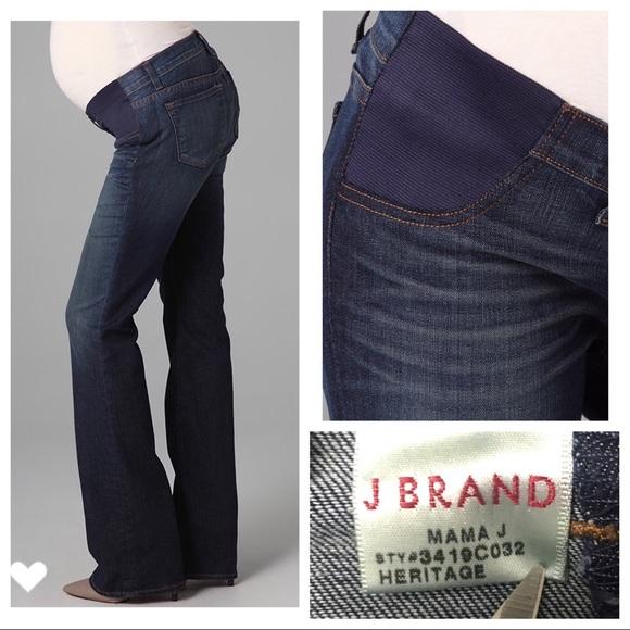 f26251884d554 J Brand Denim - J Brand Jeans Mama J Maternity Bootcut Jeans Sz 26